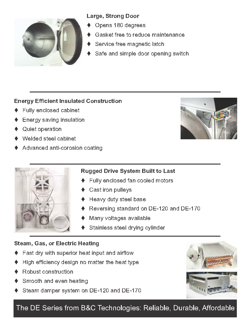 B Amp C Dryer